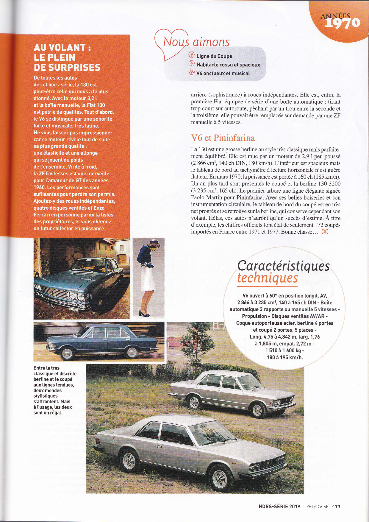 Retroviseur 2019 Fiat 130