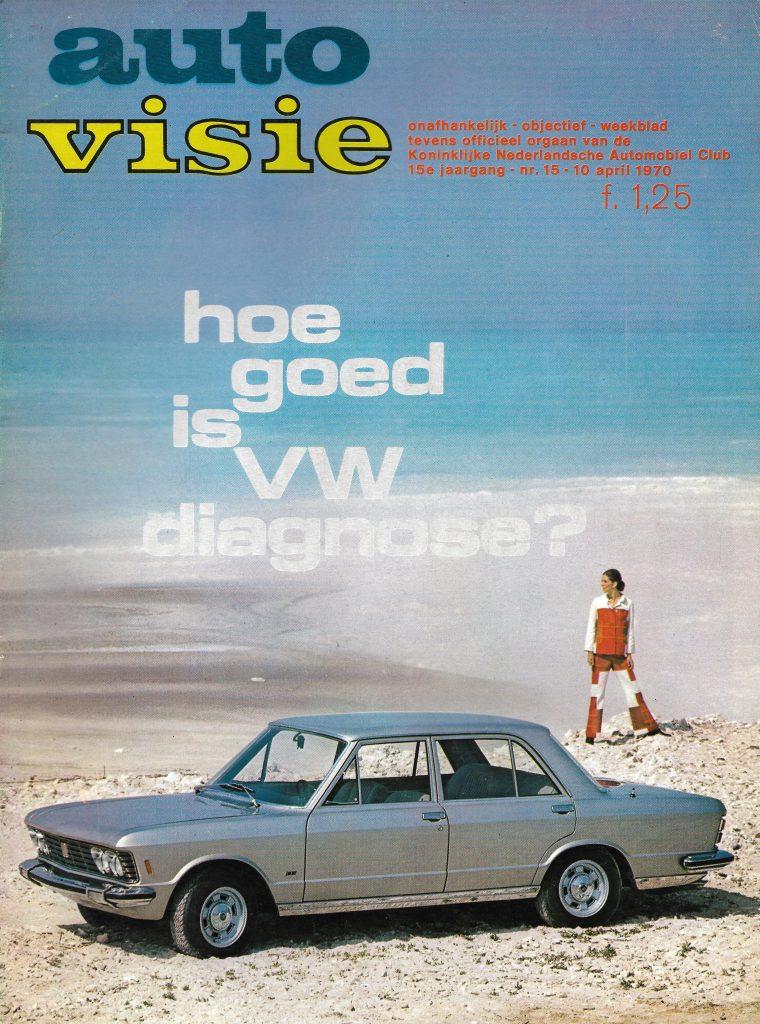 AutoVisie Cover april '70