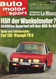 Auto Motor und Sport (Juli 1969)