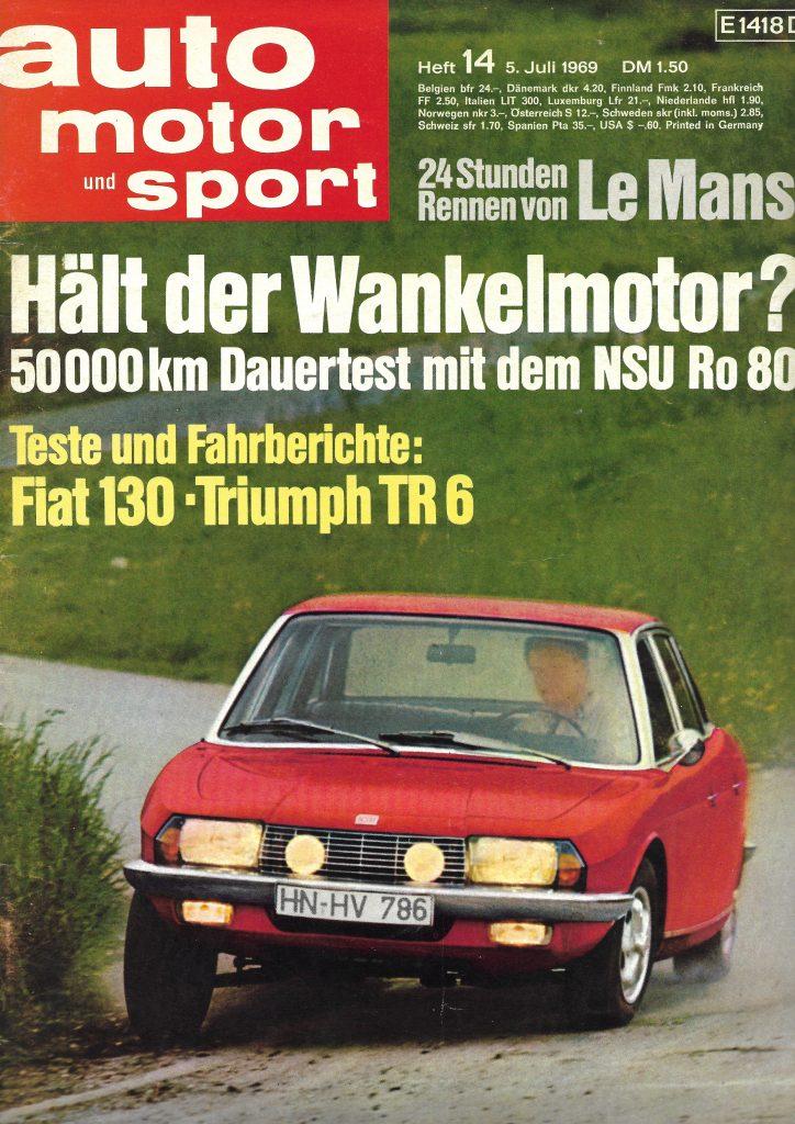 Auto Motor und Sport Fiat 130