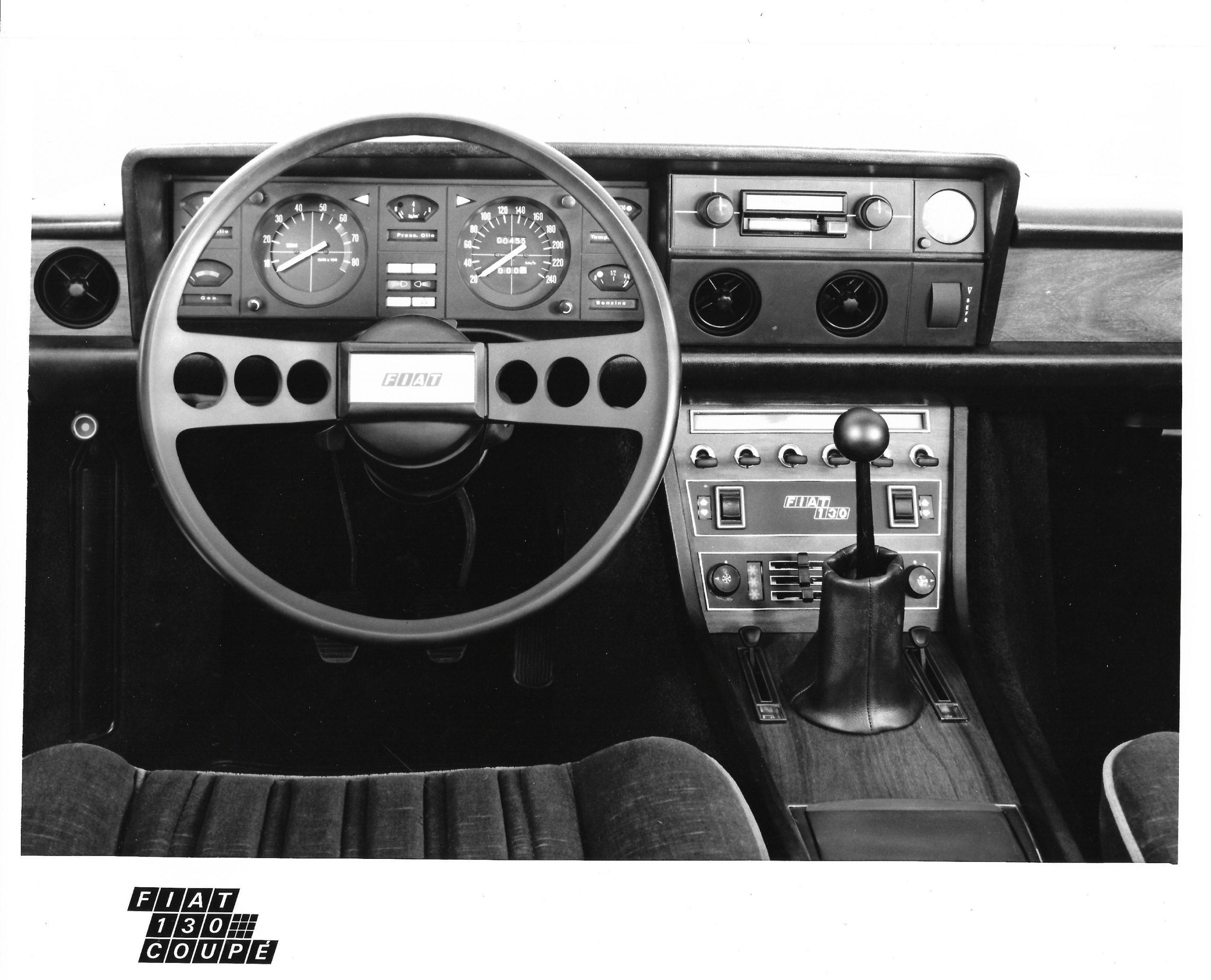 Fiat 130 press foto
