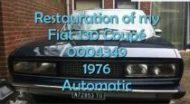 Fiat 130 Coupe Peter van Wijk