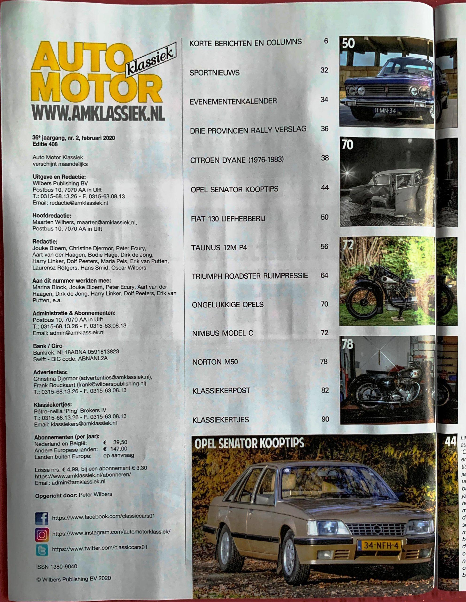 AMK 02-2020 Fiat 130