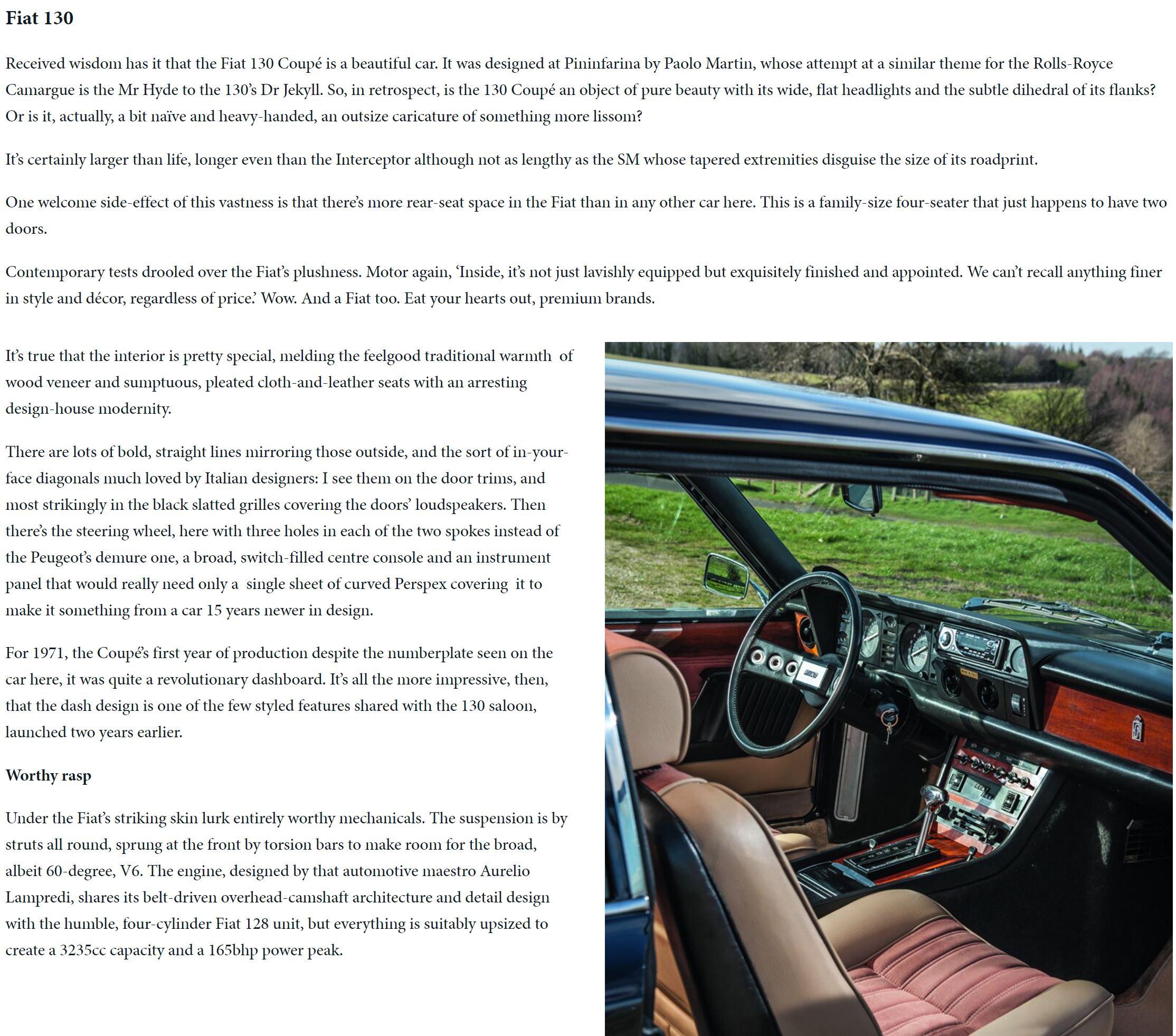 ClassicCars magazine Grandest tourers