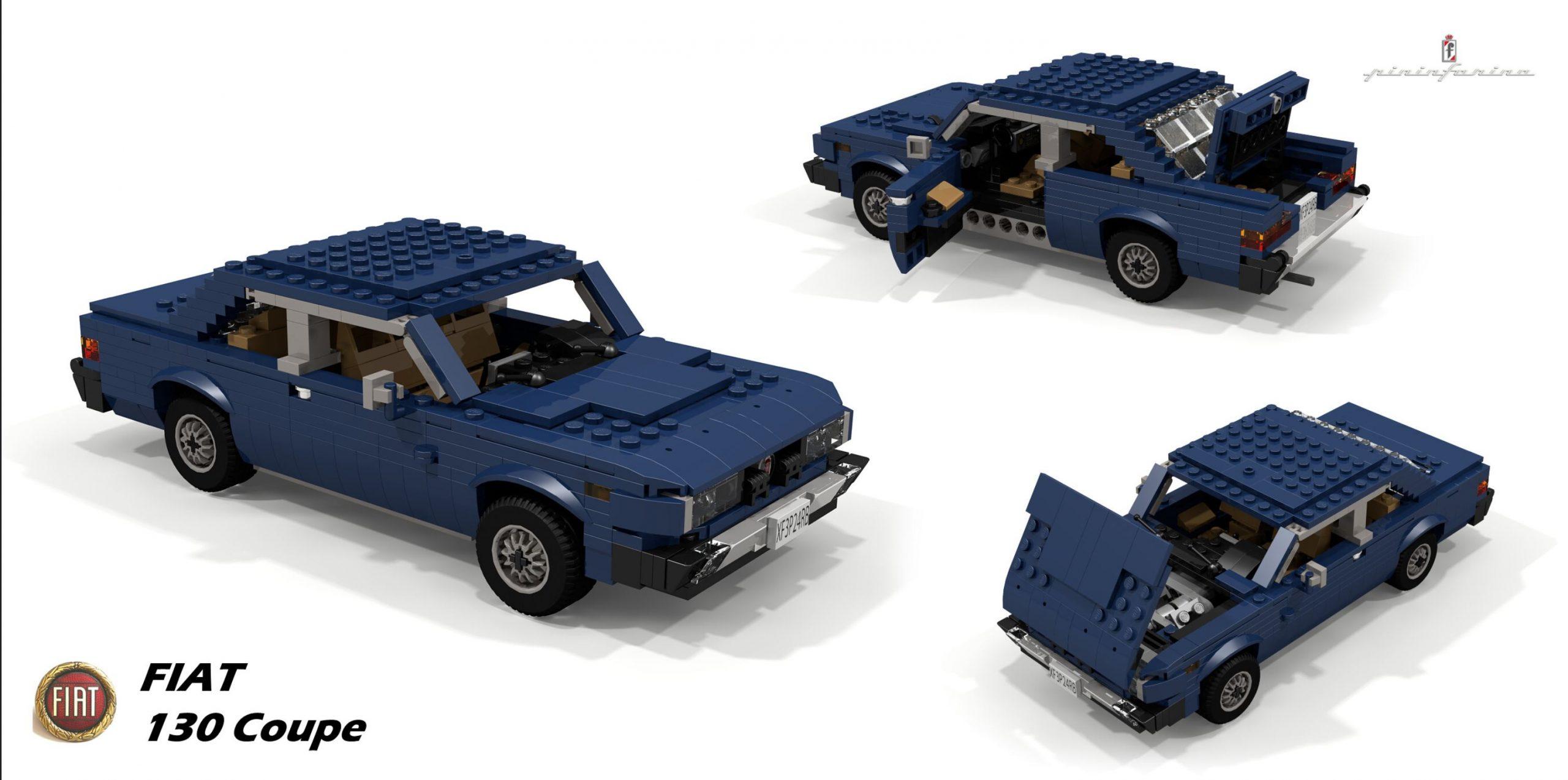LEGO Fiat 130 Coupe