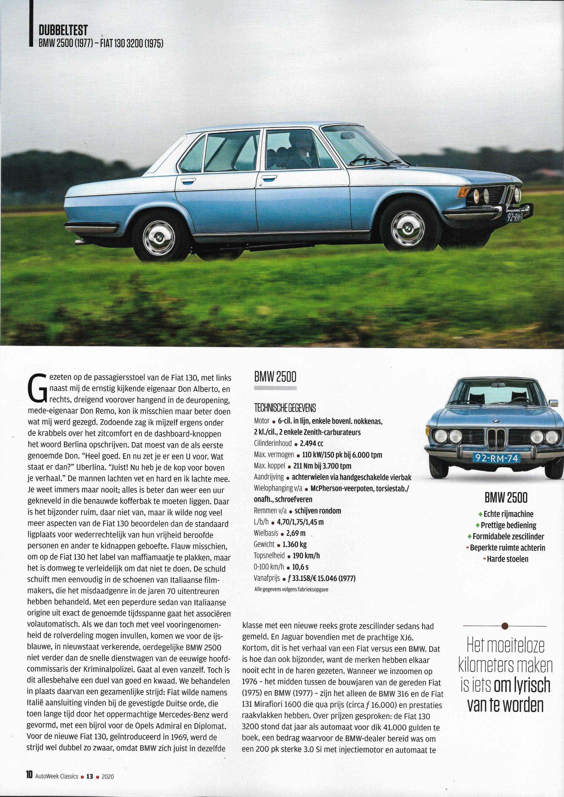 AutoWeek-Classics Fiat 130
