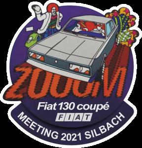 Fiat 130 meeting 2021 Silbach