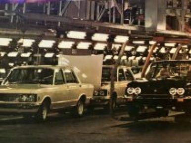 Productiefoto's Fiat 130 Berlina