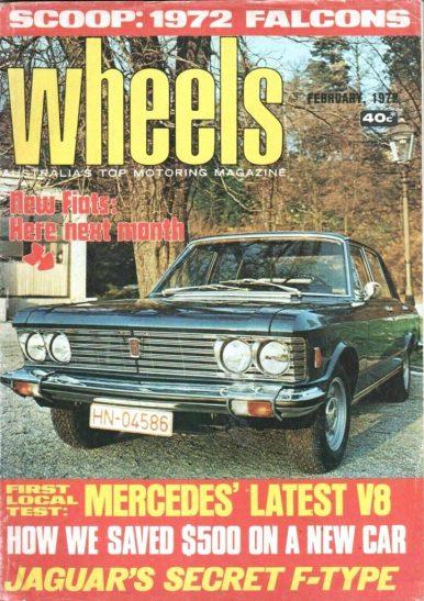 Wheels 1972 AUS