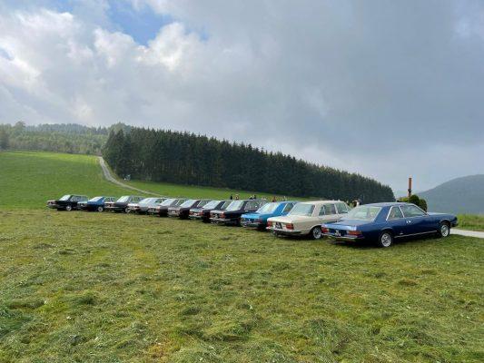 Fiat 130 meeting Silbach