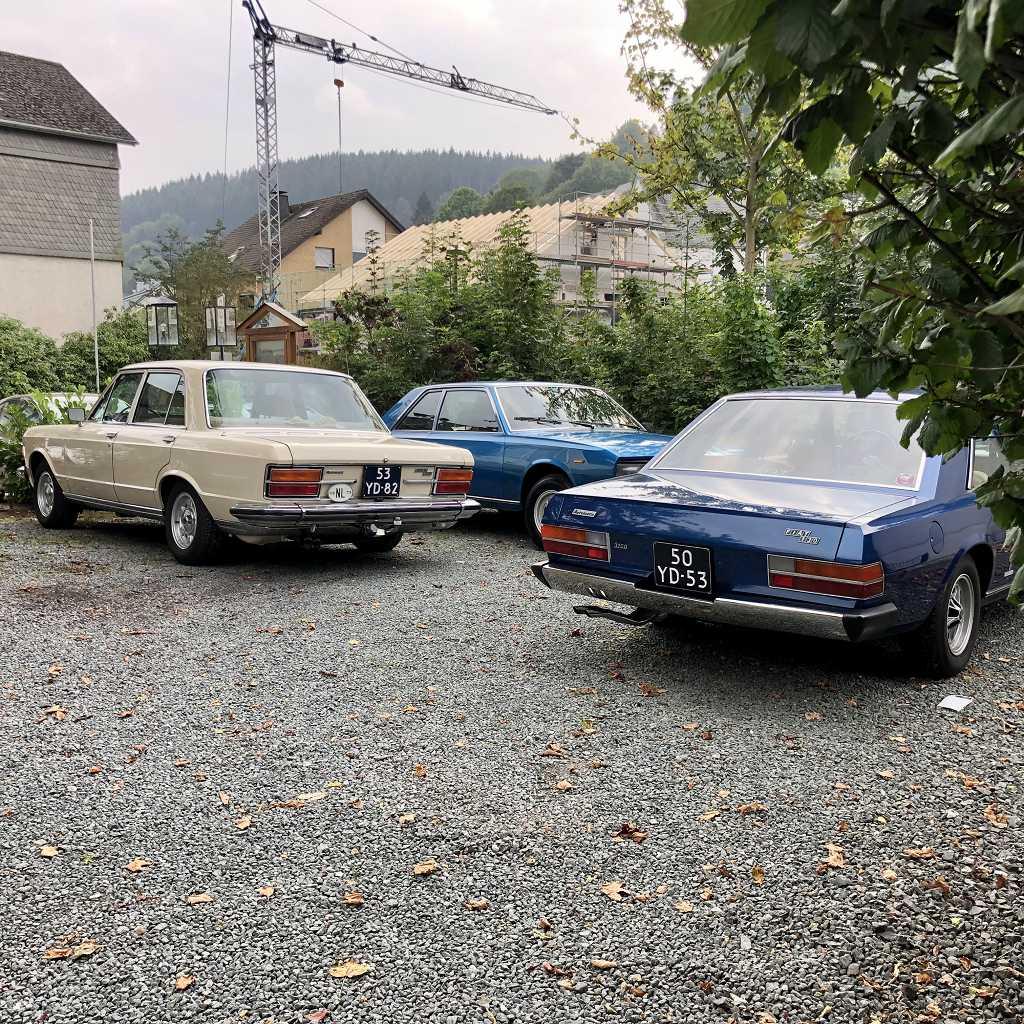 Fiat 130 meeting