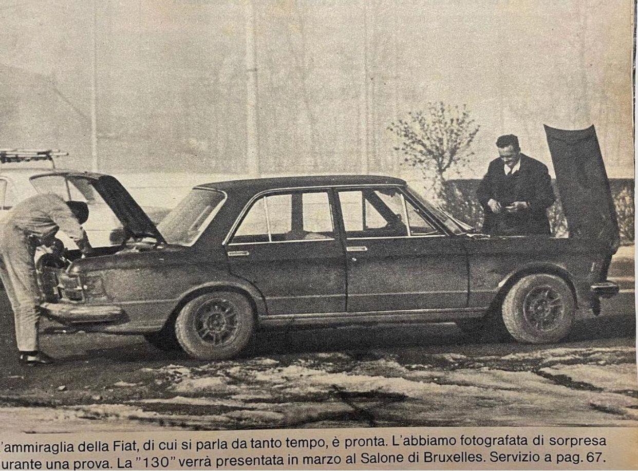 prototipo Fiat 130
